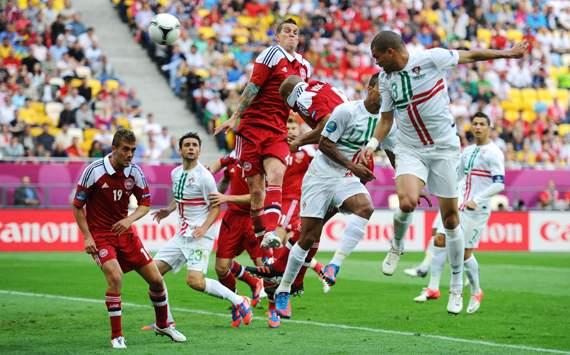 UEFA Euro 2012 - Denmark vs Portugal, Pepe