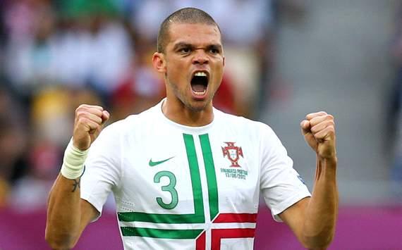 UEFA EURO 2012 : Pepe , Denmark v Portugal