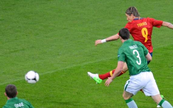 Torres, Spain v Ireland