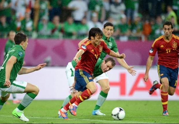 Silva the star as Spain continue to improve