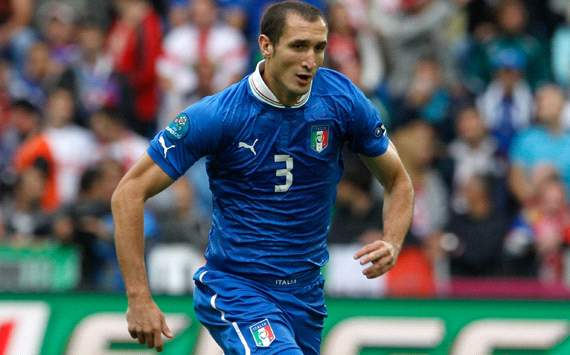 Chiellini fit for Italy to face Germany, says agent