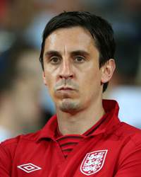UEFA EURO - Sweden v England, Gary Neville
