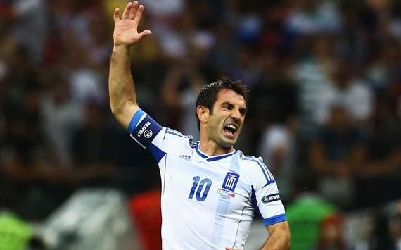 UEFA EURO 2012 - Greece v Russia, Giorgos Karagounis