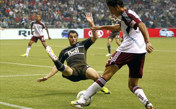 Martin Bonjour, Vancouver Whitecaps; Tony Cascio, Colorado Rapids; MLS