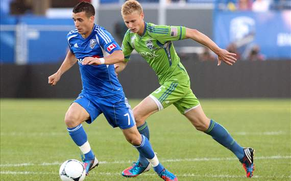 Felipe Martins, Montreal Impact; Andy Rose, Seattle Sounders FC; MLS