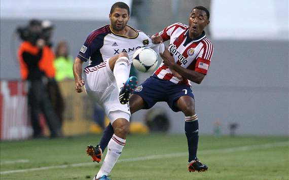 Alvaro Saborio, Real Salt Lake; James Riley, Chivas USA; MLS