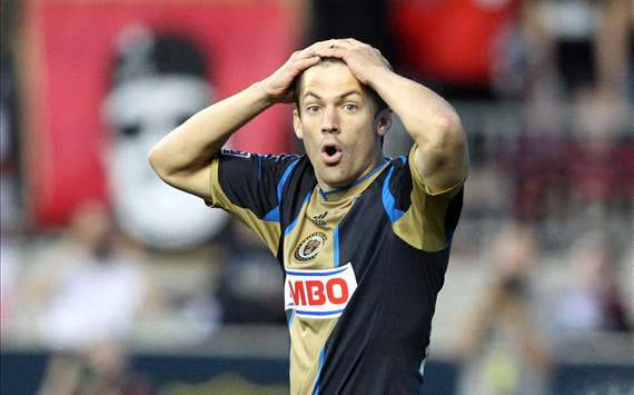 Jack McInerney, Philadelphia Union, MLS
