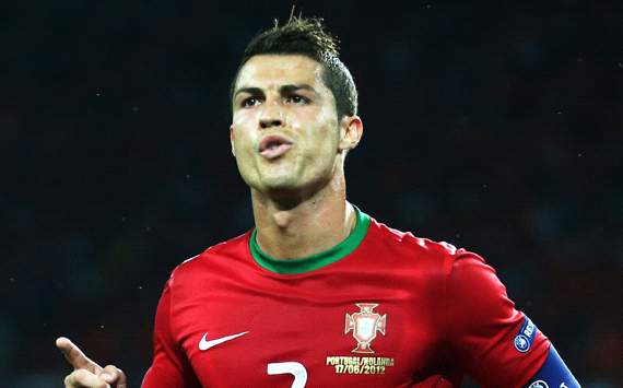 UEFA EURO 2012 : Cristiano Ronaldo, Portugal v Netherlands