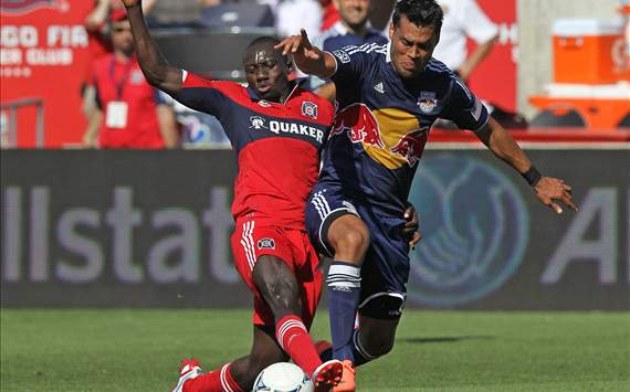 Dominic Oduro, Wilman Conde, Chicago Fire, New York Red Bulls, MLS