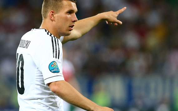 Podolski: Germany are confident & fear nobody