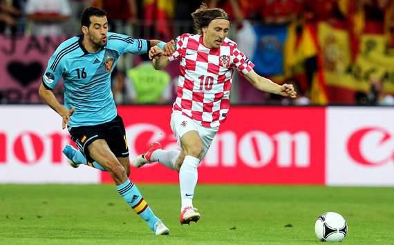 Luka Modric y dónde encajaría mejor en el Real Madrid