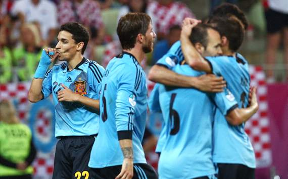 La Liga on top in best 10 performing leagues at Euro 2012