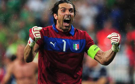 Buffon thanks Spain after Italy make the last eight