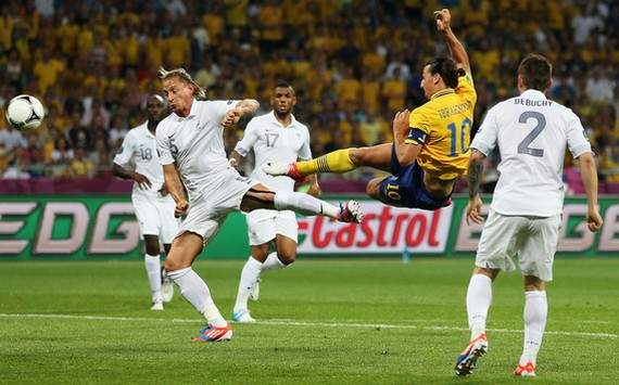 Euro 2012 : Zlatan Ibrahimovic (Sweden vs France)