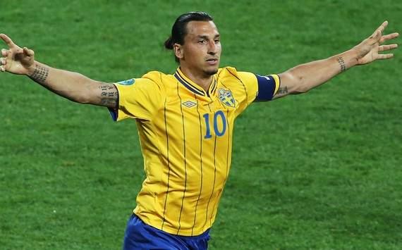 Euro 2012 : Zlatan Ibrahimovic (Sweden vs France)