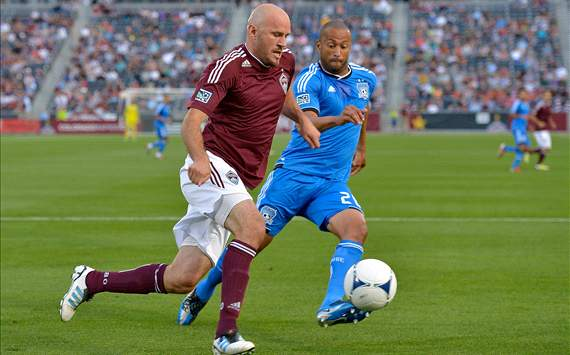 Conor Casey, Colorado Rapids; Victor Bernardez, San Jose Earthquakes; MLS