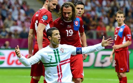 Cristiano Ronaldo, Czech Republic, Portugal
