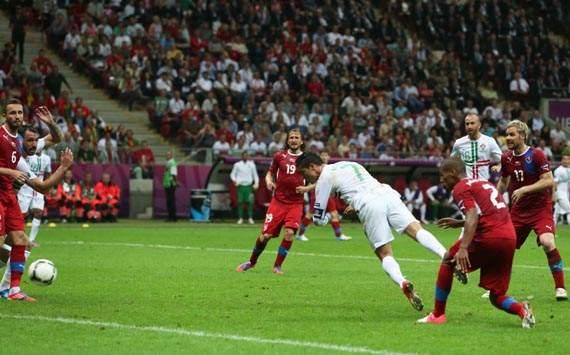 UEFA EURO 2012, Czech Republic v Portugal, Cristiano Ronaldo