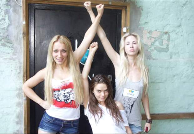 Femen: UEFA acting like 'pimps' in Ukraine
