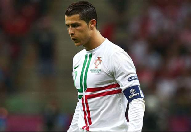 Close but no cigar: Ronaldo has hit the post more times than any team at Euro 2012