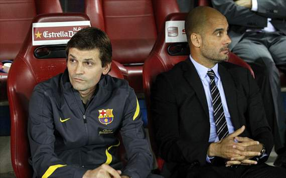 Pep Guardiola, Tito Vilanova, FC Barcelona