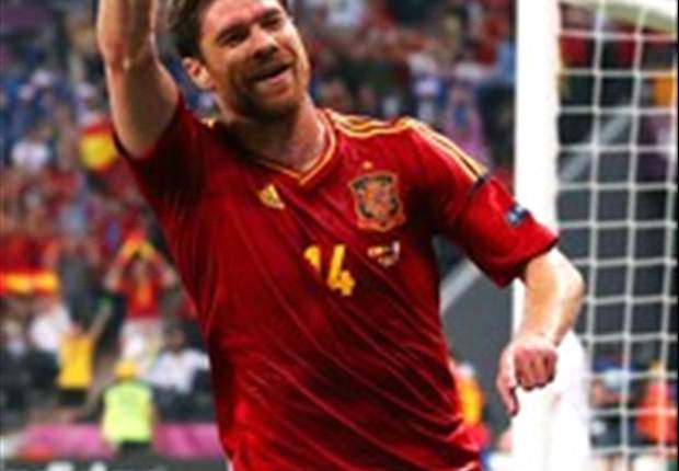 Xabi Alonso: Reaching Euro 2012 semis the priority, 100th cap just a bonus