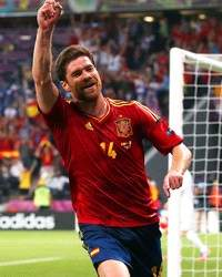 Euro 2012 : Xabi Alonso (Spain vs France)