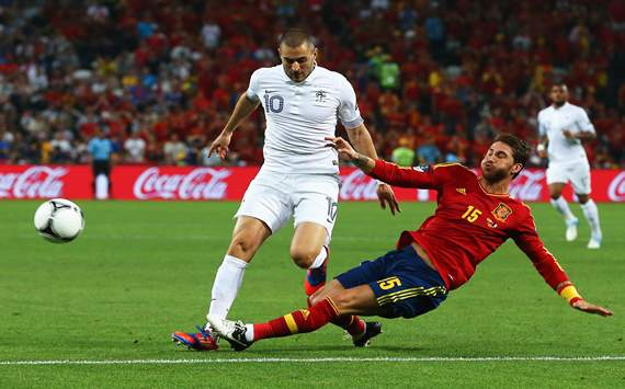Benzema: Spain only had one chance and one penalty