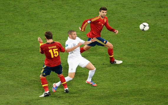 Pique: There are no problems between Sergio Ramos and me