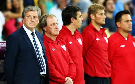 Hodgson: England go out with our heads held high