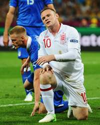 UEFA EURO 2012 : Wayne Rooney, England v Italy