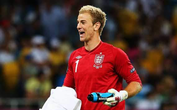 Manchester City and England keeper Hart plays down 'best in the world' tag