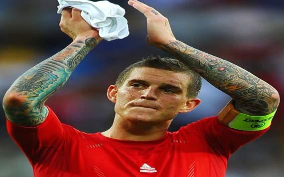 UEFA EURO 2012:Denmark v Portugal Daniel Agger