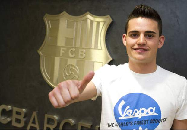 Barcelona announce signing of Man City teenager Joan Angel Roman
