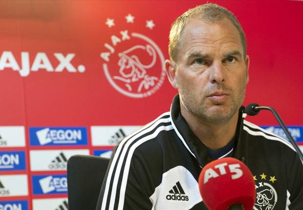 Ajax boss De Boer admits 'something was not right' with Netherlands squad at Euro 2012