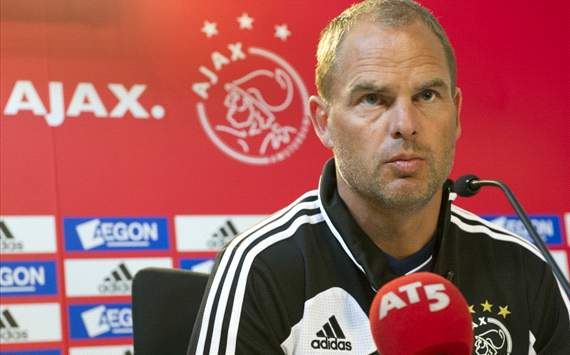 Ajax have nothing to lose in Champions League group stage, insists De Boer