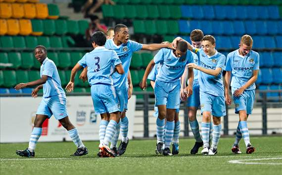 Manchester City U16, Lion City Cup, Singapore