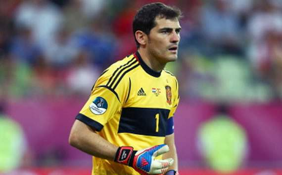 Casillas called for an end to injury time in Euro 2012 final out of respect for Italy