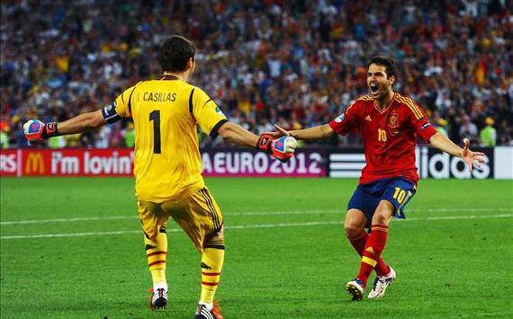 Cesc the hero as Spain reach final