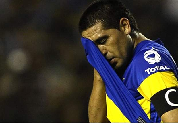 Copa Libertadores defeat may spell the end for Riquelme at Boca, but he will always be a legend