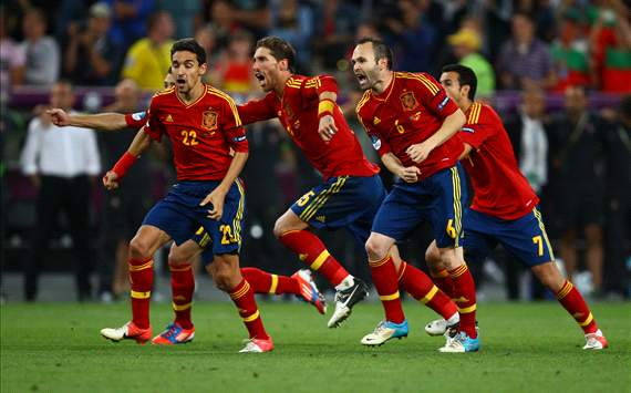 Spain's semi-final shoot-out draws record TV audience in the country