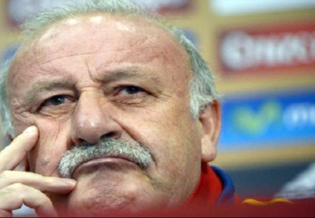 Spain will start with three forwards against Italy, says Del Bosque