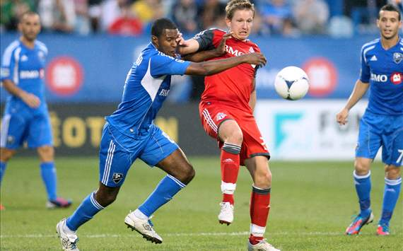 Patrice Bernier; Terry Dunfield - Montreal Impact vs. Toronto FC