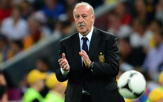 Del Bosque ready to face 'perfect' Italy midfield