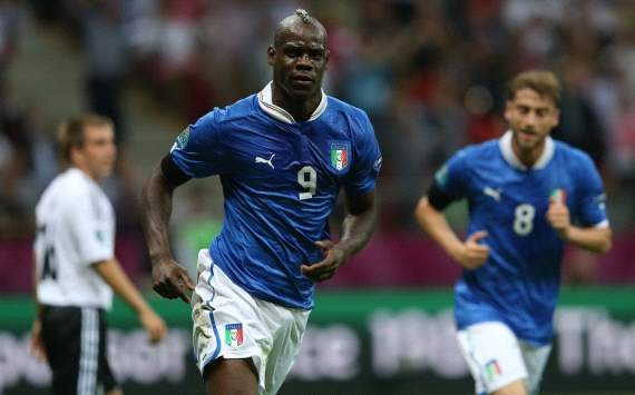 EURO 2012, Italy vs. Germany, Mario Balotelli