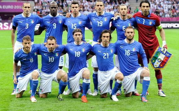 Italy team vs Germany