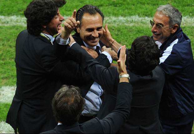 Hail Cesare! By steering Italy to the final Prandelli has already conquered his nation