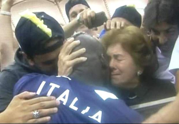 Balotelli: I dedicated the goals to my mother