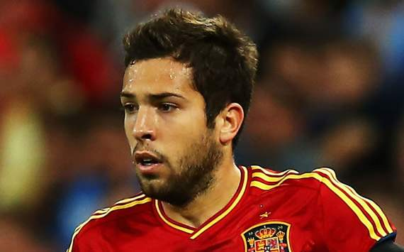 Jordi Alba targets place in Spain's Olympic squad