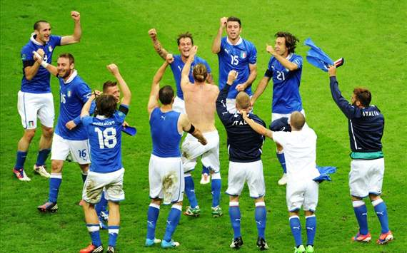 HASIL POLING: Italia Juara Euro 2012 Versi Pembaca